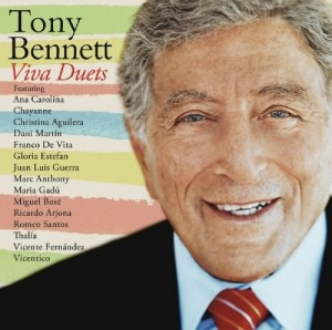 Audio CD Tony Bennett. Viva duets