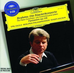 Audio CD Emil Gilels, Brahms. Piano concertos No. 1 and 2