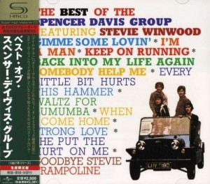 Audio CD Spencer Davis Group. The best of Spencer Davis Group featuring Steve Winwood