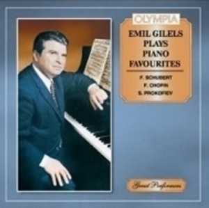 Audio CD Классика. Emil Gilels - Plays piano favourites