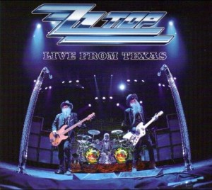 LP ZZ Top. Live From Texas (LP)