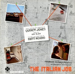 LP Quincy Jones. The Italian Job (LP)