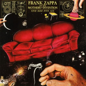 LP Frank Zappa And The Mothers Of Invention. One Size Fits All (LP)