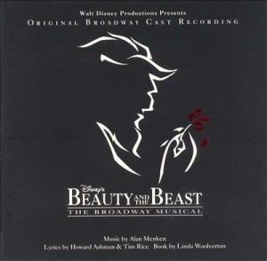 Audio CD O.S.T. Beauty and the beast. A new musical. Original broadway cast recording