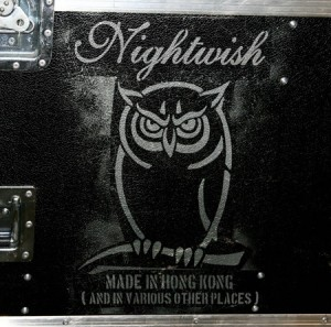 Audio CD Nightwish. Made in Hong Kong (and in various other places)
