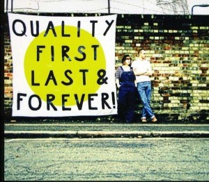 LP Trevor Moss, Hannah-Lou. Quality First, Last, & Forever! (LP)
