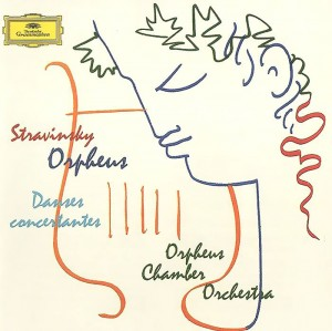 Audio CD Orpheus chamber orchestra. Stravinsky. Orpheus. Danses concertantes