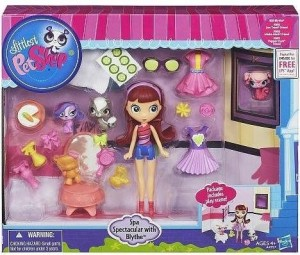 товар Littlest Pet Shop. Блайс и зверюшки - SPA день (A4957)