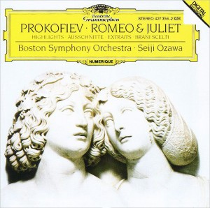 Audio CD Seiji Ozawa. Prokofiev. Romeo and Juliet