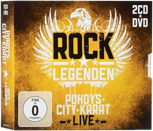 DVD + Audio CD Puhdys, City, Karat. Rock legenden live