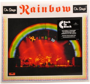 LP Rainbow. On Stage (LP)