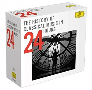 Audio CD Various Artists.The History Of Classical Music (24 CD)