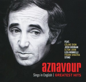 Audio CD Charles Aznavour. Sings in english. Greatest hits