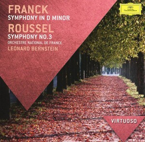 Audio CD Leonard Bernstein. Franck. Symphony in D minor / Roussel. Symphony No.3