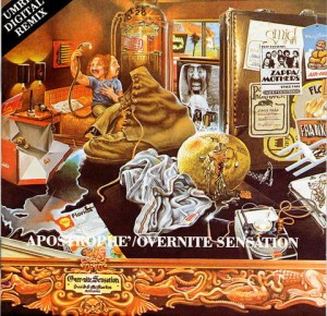 LP Frank Zappa. Over-Nite Sensation (LP)