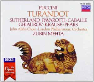 Blu-Ray + Audio CD Zubin Mehta. Puccini: Turandot