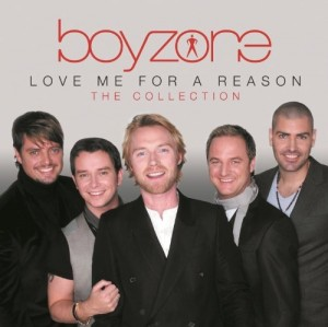 Audio CD Boyzone. Love me for a reason. The collection