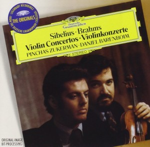 Audio CD Pinchas Zukerman. Sibelius: Violin Concerto In D Minor/ Beethoven: Violin Romance No.1