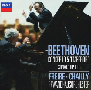 Audio CD Beethoven: Piano Concerto No. 5 and Piano Sonata No. 32. Nelson Freire, Gewandhausorchestra / Riccardo Chailly