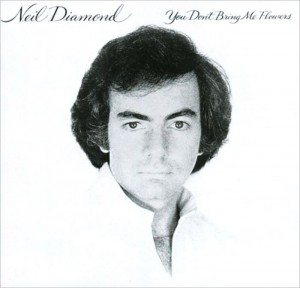 Audio CD Neil Diamond. You don't bring me flowers