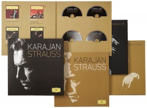 Blu-Ray + Audio CD Herbert von Karajan. Strauss: Complete Analogue Recordings