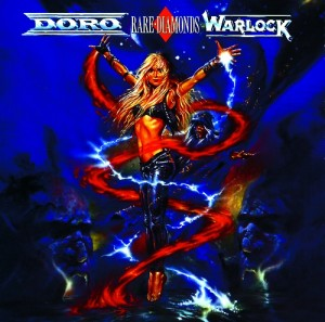 Audio CD Doro And Warlock. Rare Diamonds