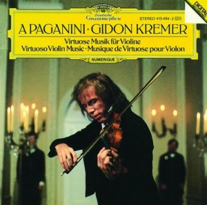 Audio CD Gidon Kremer. A Paganini - virtuoso violin music
