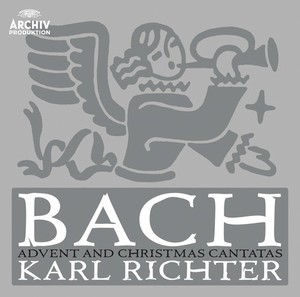 Audio CD Karl Richter. Bach: Advent & Christmas Cantatas
