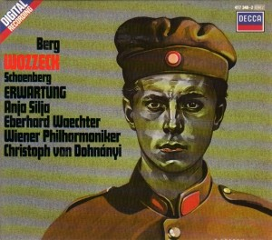 Audio CD Christoph von Dohnanyi. Berg: Wozzeck