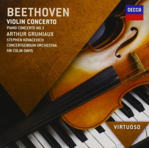 Audio CD Sir Colin Davis. Beethoven: Piano Concerto No.3; Violin Concerto
