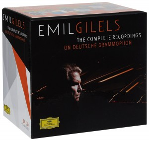 Audio CD Emil Gilels. The Complete recordings on Deutsche Grammophon