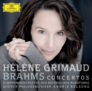 Audio CD Helene Grimaud. Brahms. Piano concertos
