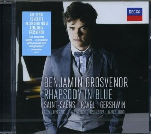 Audio CD Benjamin Grosvenor. Rhapsody in blue