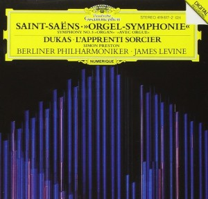 "Audio CD James Levine. Saint-Saens: Symphony No. 3 ""Organ"""