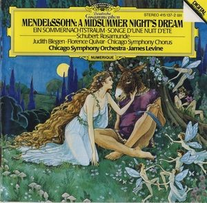 Audio CD James Levine. Mendelssohn: A Midsummer Night's Dream