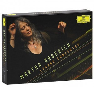 Audio CD Martha Argerich. Lugano Concertos