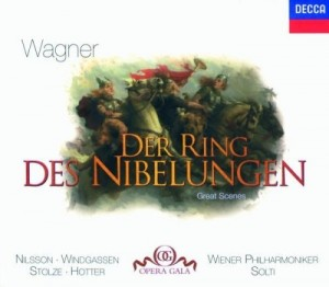 Audio CD Sir Georg Solti. Wagner: Great Scenes From