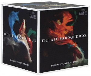 Audio CD Various Artists. The All - Baroque Box