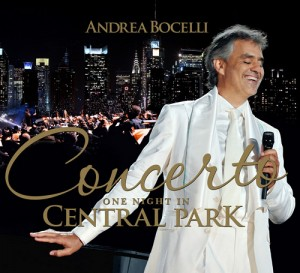 Audio CD Andrea Bocelli. Concerto: One Night In Central Park