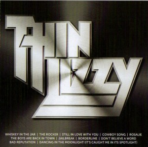 Audio CD Thin Lizzy. Icon
