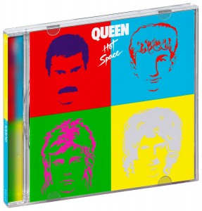 Audio CD Queen. Hot space (Deluxe)