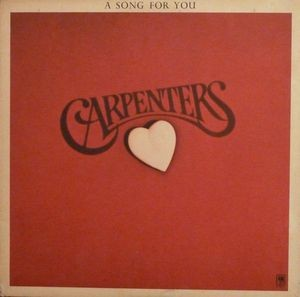 Audio CD The Carpenters. A Song For You