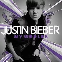 Audio CD Justin Bieber. My Worlds