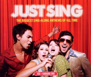 DVD + Audio CD Various Artists. Just Sing