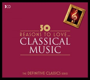 Audio CD Various Artists. 50 Reasons To Love Classical
