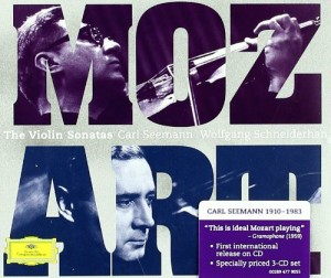 Audio CD Carl Seemann. Mozart: violin sonatas