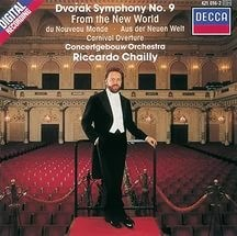 Audio CD Riccardo Chailly, Royal Concertgebouw Orchestra. Dvorak: Symphony 9 Carnival Overture