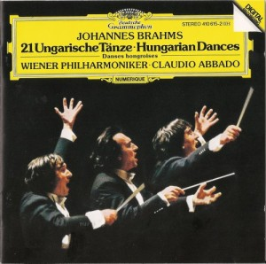 Audio CD Claudio Abbado. Brahms: Hungarian Dances