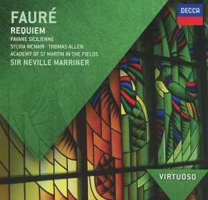 Audio CD Sir Neville Marriner. Faure. Requiem