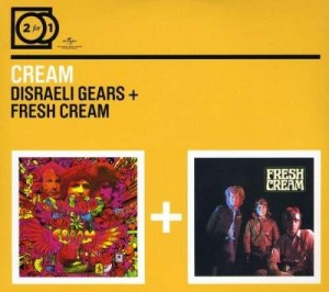 Audio CD Cream. Disreali gears/ Fresh cream